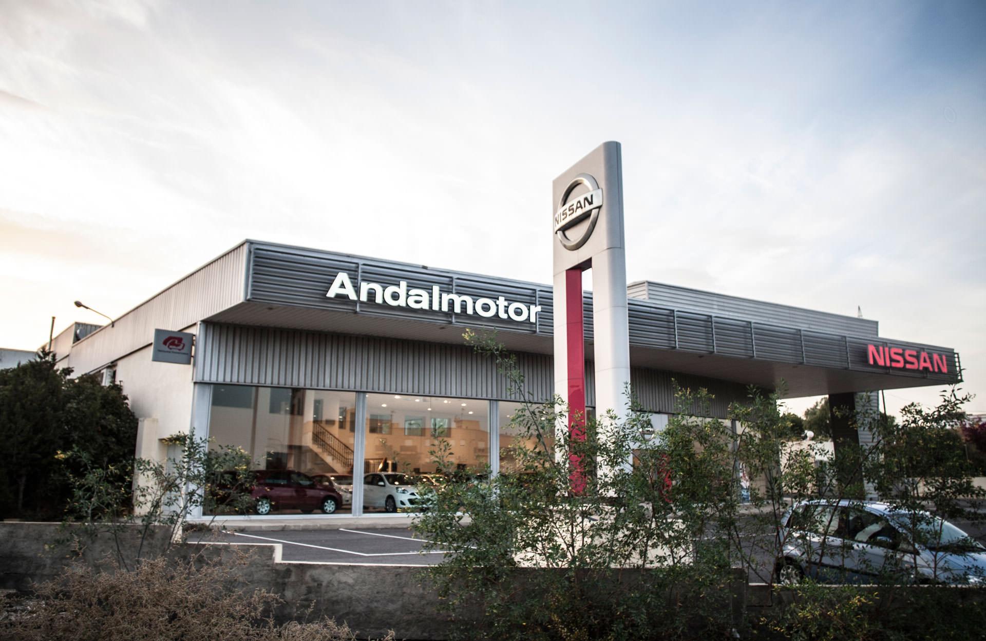 Concesionario - ANDALMOTOR - Nissan