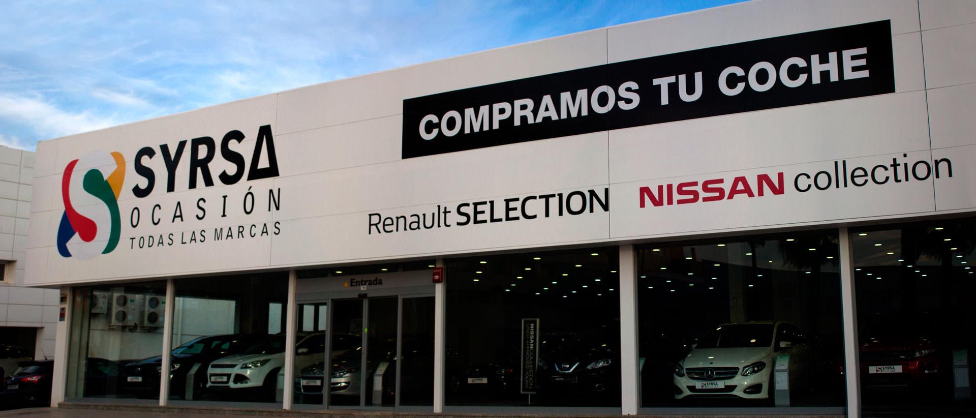 Concesionario - Las mejores ofertas en vehículos de ocasión - Syrsa ocasión