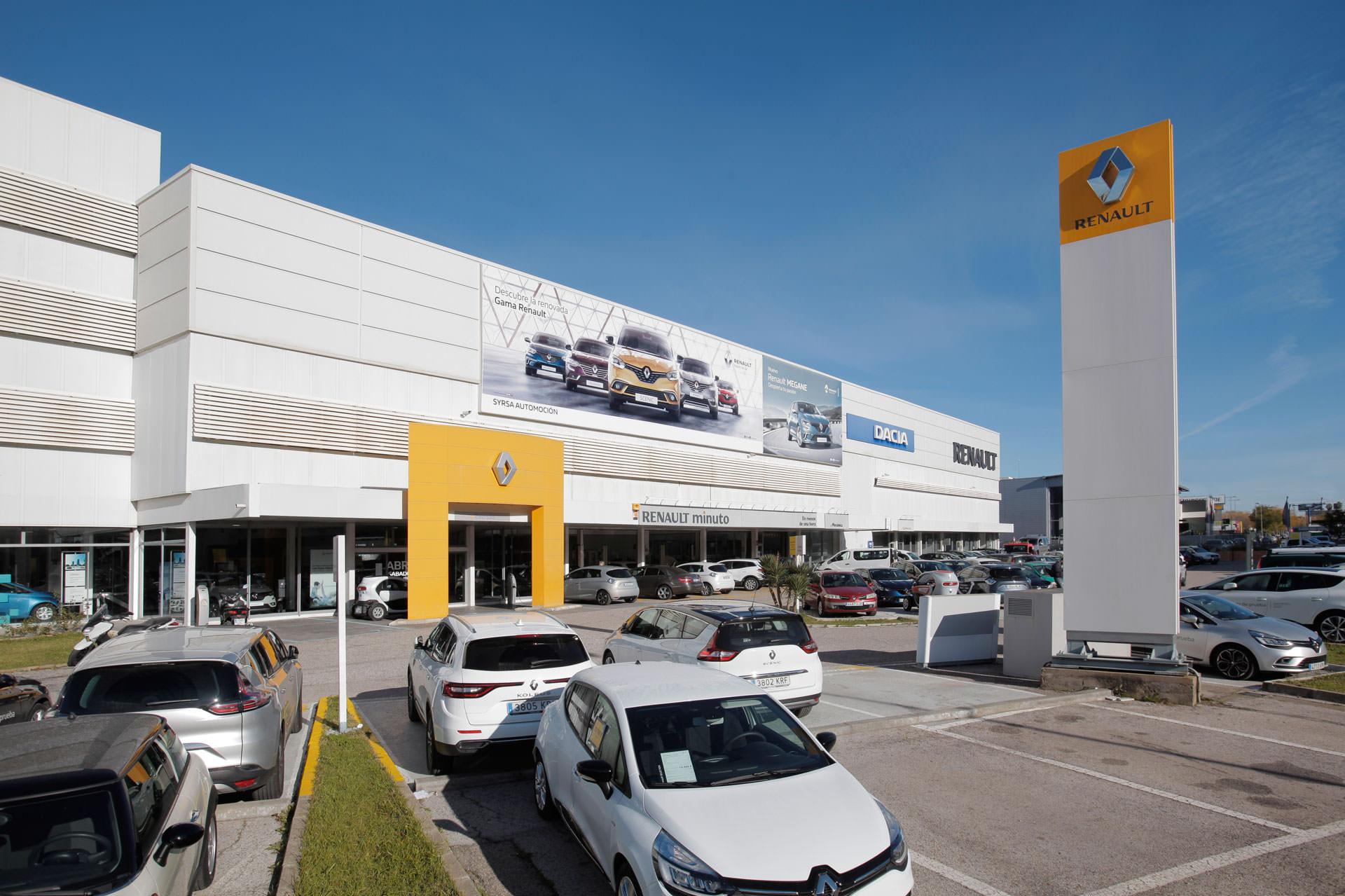 Concesionario - SYRSA Automoción - Renault