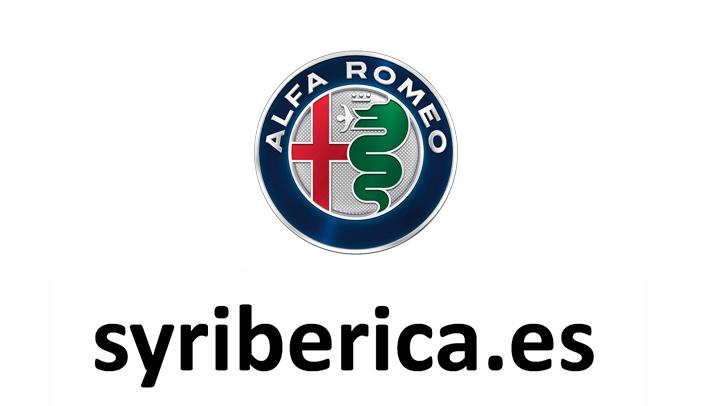 Logotipo - Syribérica - Alfa Romeo
