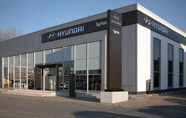 Concesionario - Syrluz - Hyundai